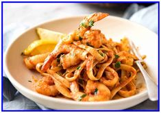 tagliatelle pasta recipes with prawns-#tagliatelle #pasta #recipes #with #prawns Please Click Link To Find More Reference,,, ENJOY!! Chilli Prawn Pasta, Spicy Prawns, Spicy Pasta, Shrimp Pasta, Prawn Shrimp, Pasta With Prawns, Garlic Prawns, Prawn Recipes, Seafood Recipes