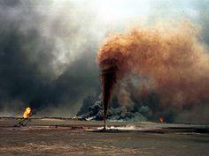 Gulf War oil spill 1991.