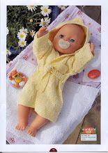 Album Archive - Dukketøj til Baby Born 2 - Ingelise Knitted Doll Patterns, Knitted Dolls, Baby Knitting Patterns, Crochet Patterns, Knitting Dolls Clothes, Doll Clothes Patterns, Clothing Patterns, Toddlers And Preschoolers, Kids