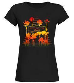 Vintage Huntington Beach Beach Palm Trees Retro T-Shirt beach body t shirt,body beach shirt,fake beach body shirt,beach body bikini t shirt,