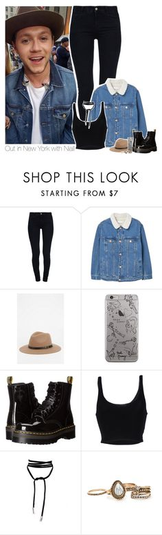 """Out in New York with Niall"" by heslovely ❤ liked on Polyvore featuring STELLA McCARTNEY, MANGO, Staring At Stars, Dr. Martens, Roque and Lamoda"