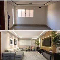 "1,381 Likes, 13 Comments - NS Interiores (@ns.interiores) on Instagram: ""Projeto incrível de @arq.higorzanelato  #arquitetura #arquiteturadeinteriores #arq #reforma…"""