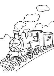 Afbeeldingsresultaat voor kleurplaat trein peuters