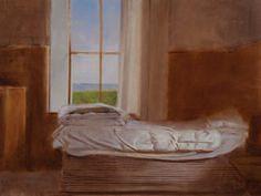 David Graeme Baker : Guest Cottage 2009, oil on board, 11 x 14