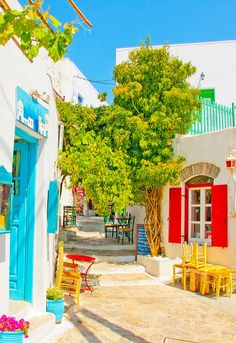 Greek colors - Amorgos Island, Greece