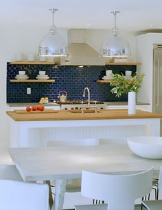 Color Spotlight: Cool Off With Santorini Blue | Fireclay Tile Design and Inspiration Blog | Fireclay Tile
