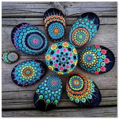 100+ DIY Ideas of Painted Rocks with Inspirational Picture and Words 32 - Home & Decor