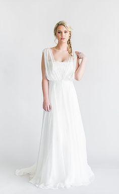 VENE AI | Bridal Cover Ups - Silk organza draped cape with crushed velvet ribbon detail and belt