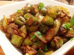 okra recipes healthy benefits of / okra recipes ; okra recipes healthy benefits of ; Okra Recipes, Whole Food Recipes, Vegan Recipes, Vegan Food, Bhindi Masala Recipe, How To Cook Okra, Okra Benefits, Okra And Tomatoes, Clean Eating