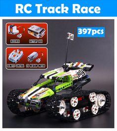 LEPIN Technic Series The RC Track Remote-control Race Car Building Blocks Toys - Blocks