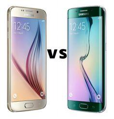 A Brief #Comparison Between #Samsung #Galaxy #S6 & #S6Edge