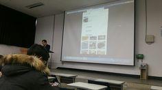 원광대학교 교양 트위터와소셜네트워크 14주차 수업  핀터레스트에 대해 배우고 있습니다