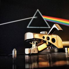 #nowspinning Pink Floyd - The Dark Side of the Moon. This setup really does this album justice. The Empire 598 III turntable with 4000D III cart and Celestion Ditton 662 speakers just sing! Soon the NAD will be swapped out for the freshly serviced and modded Yamaha CA-2010!
