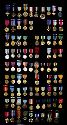 Typology of military medals.