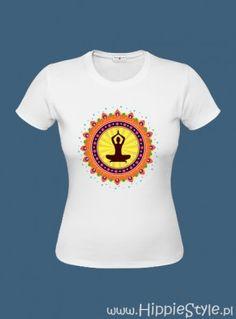 koszulka T-shirt biała JOGA