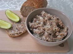 Polish Recipes, Oatmeal, Food And Drink, Appetizers, Pasta, Meat, Breakfast, Dinners, Kitchen
