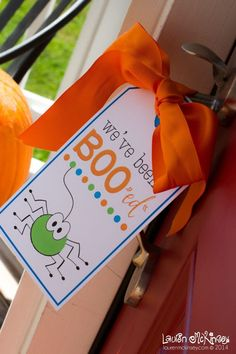 13 Free You've Been Boo'ed Printables: You've Been Boo'ed Halloween Printable by Made to be a Momma