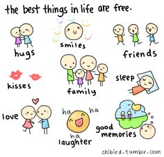 Free Cartoons About Life | the best things in life are free CARTOON