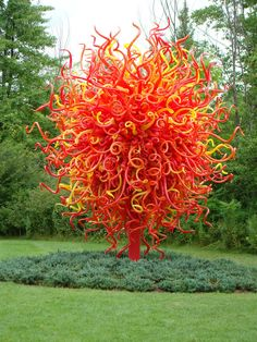 Dale Chihuly glass art, Meijer Gardens & Sculpture Park, Grand Rapids, MI. I can't imagine ever getting tired of looking at this!