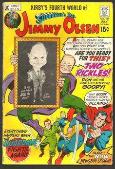 Superman's Pal JIMMY OLSEN #139 JACK KIRBY  1st series DC COMICS '71 Don Rickles