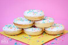Yellow Cake Donuts + Donut Printable!