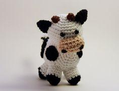 Cow Cow Amigurumi by LaCostureraGalactic on Etsy