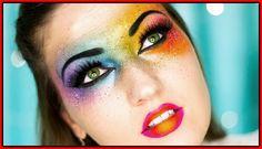 Tipps zum Tragen von Rainbow Make-up - Rainbow Makeup-Ideen  #ideen #makeup #rainbow #tipps #tragen
