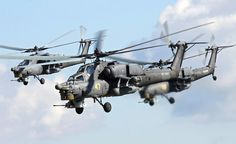 Russian Mil Mi 28 Havoc attack helicopters [1.500px  917px]