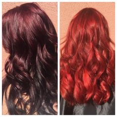 Brittney Hamilton (@Brittishbeauty03) of HotBox Salon in Las Vegas, NV, says her regular client was ready to take the plunge to Ariel red. Here she shares the HOW TO: STEP 1: Balayage the hair from the top of the rounds down with lightener and 30 volume. STEP 2: Along the mohawk section along the top, apply lightener with 30 volume in slices, making sure to feather the highlights at the root. Process for 30 minutes.