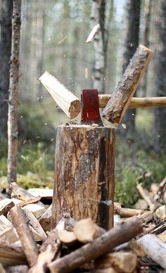 Lenha - Saiba mais sobre a tranquilidade da vida no campo e todos os seus benefícios em: www.asenhoradomonte.com