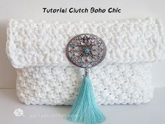 Tutorial clutch boho chic
