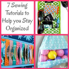 7 Sewing Tutorials to Help You Stay Organized