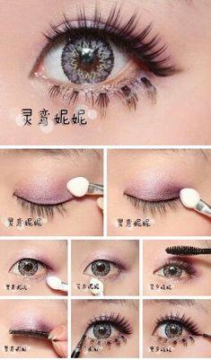 Gyaru Hair, Gyaru Makeup, Ulzzang Makeup, Kawaii Makeup, Asian Makeup, Korean Makeup, Hair Makeup, Makeup Inspo, Makeup Tips