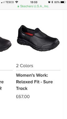 Skechers Work Shoes, Slip On, Sneakers, Fitness, Color, Women, Fashion, Tennis, Moda