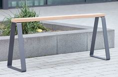 Campus levis High seat by Westeifel Werke | Exterior benches