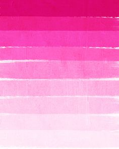 Pink Ombre Brushstroke // more art here