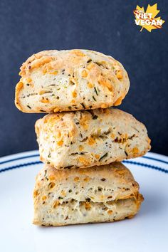 These vegan cheddar chive scones are puffy triangles of happiness. Buttery, flaky, cheddar chivy goodness. Sometimes we forget how quickly time passes. I'm 26—that feels weird to say. I feel like 25 was a monumental year for me but it went by so fast I don't even remember what it was that made it monumental. …