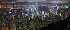 Places To Travel, Places To See, Travel Destinations, Blade Runner, Tenerife, Hong Kong Night, Night Skyline, Futurism, Looks Cool