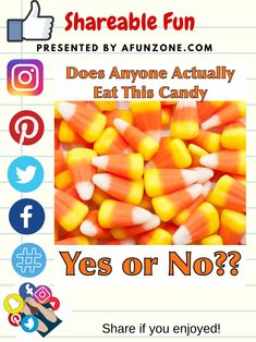 #Solve #Share and #Pin #Facebook #Twitter #Instagram #Pinterest #Like - #food #Halloween #candycorn #eat #trickortreat