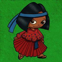 Nia indgena tarahumara Chihuahua Mxico  Nios y nias del