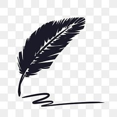 Black Feather Pen Black Ink Feather Png Transparent Clipart Image And Psd File For Free Download In 2021 Feather Logo Feather Icon Feather Pen