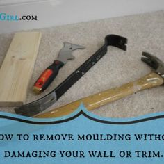 How to remove moulding without damaging wall or trim Wall Bookshelves, Built In Bookcase, Cut Crown Molding, Moulding, Craftsman Window Trim, Sawdust Girl, Nook And Cranny, New Condo, Home Improvement