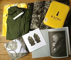 RAINS Ethical  rainwear and sleeves at http://www.goodfibrations.nl