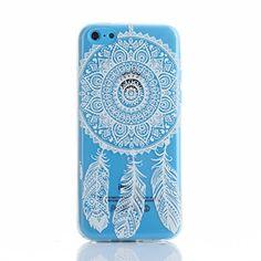 Beiuns Carcasa de TPU y silicona para Apple iPhone 5C Funda - XX534 atrapasueños blanco - http://www.tiendasmoviles.net/2016/03/beiuns-carcasa-de-tpu-y-silicona-para-apple-iphone-5c-funda-xx534-atrapasuenos-blanco/