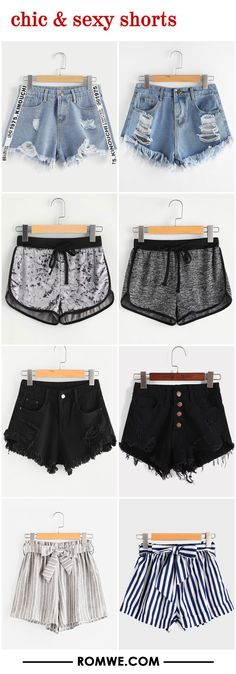 chic & sexy shorts from romwe.com