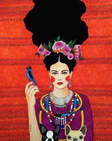 Por amor al arte: Hülya Özdemir Art And Illustration, Portrait Illustration, Watercolor Illustration, Illustrations, Fashion Painting, Fashion Art, Street Art, Beauty Art, Portrait Art