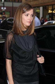 Rose Byrne mid length hair