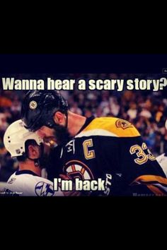 Zdeno Chara is a beast!!