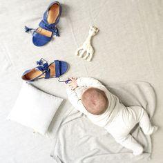 #Sophielagirafe with #morganesezalory #sézane beautiful sandals !