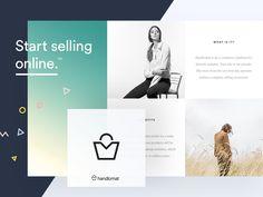eCommerce Platform Branding by Adam Zielonko #Design Popular #Dribbble #shots